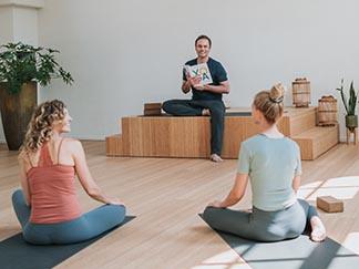Schoolverlichting yoga en meditatie voor kinderen