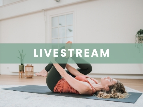 Losse livestream yogales