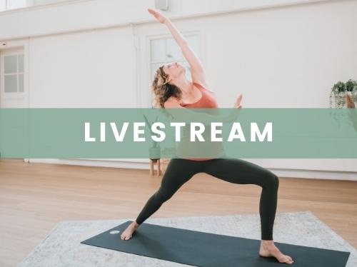 Yoga online livestreamlessen